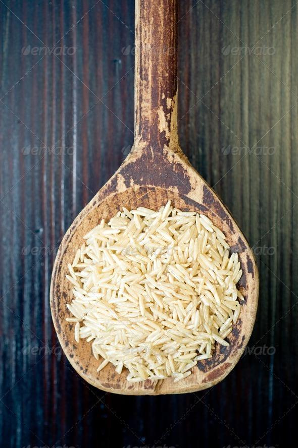 Basmati rice  - Stock Photo - Images