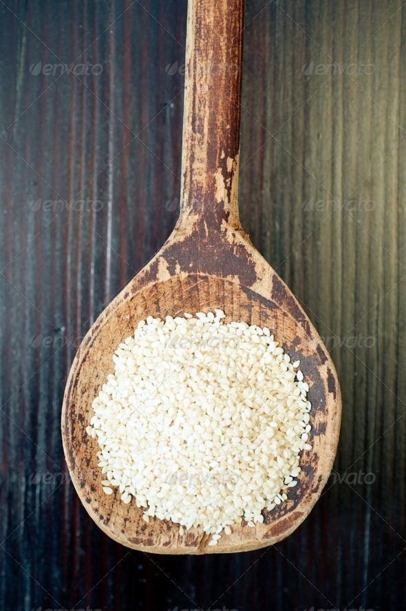 Sesame seeds - Stock Photo - Images