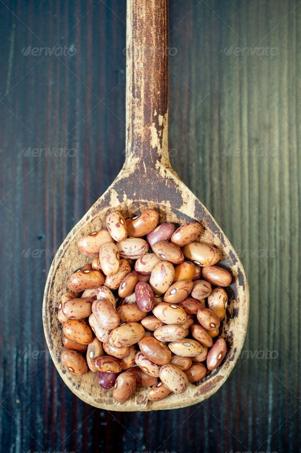 Dried beans - Stock Photo - Images