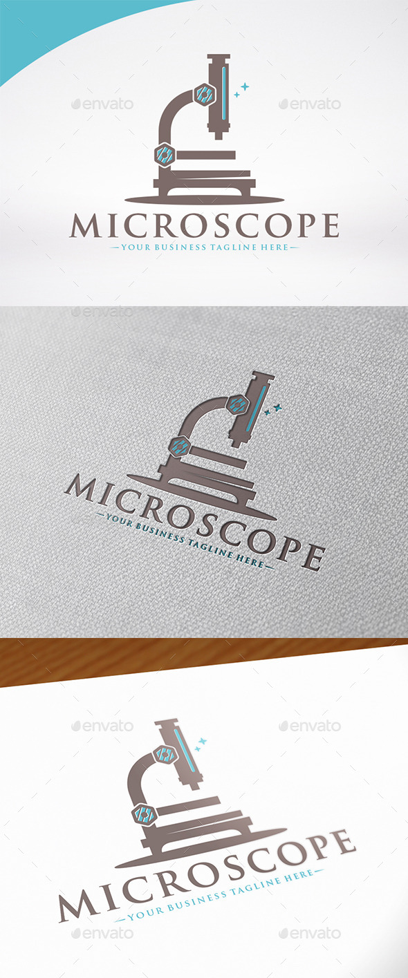 Micro Lab Logo Template - Objects Logo Templates