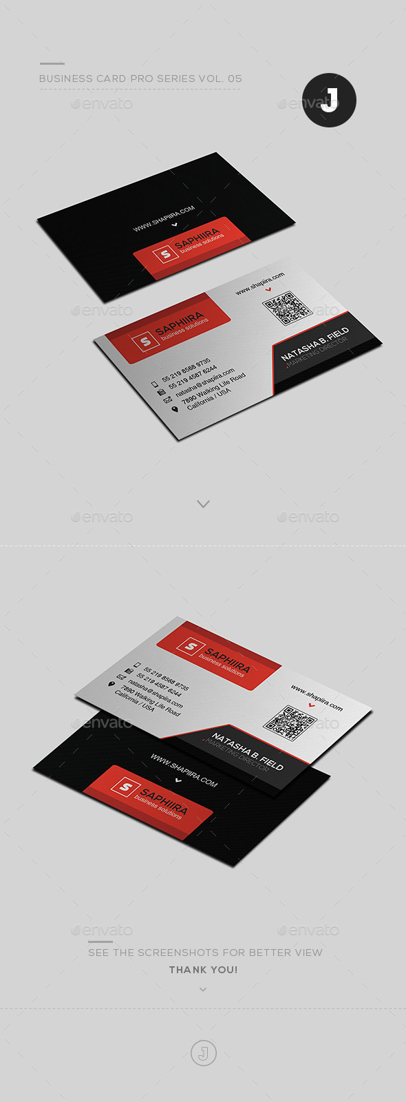 Business Card Pro Series Vol. 05 - Creative Business Cards