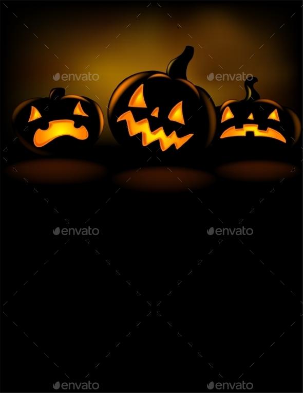 Grinning Halloween Lantern  - Halloween Seasons/Holidays