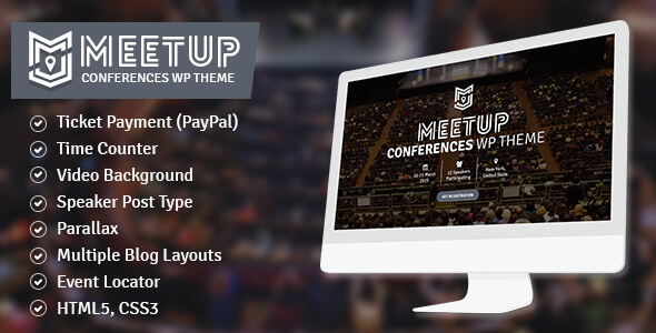 The Meetup – Conference, Event WordPress Theme