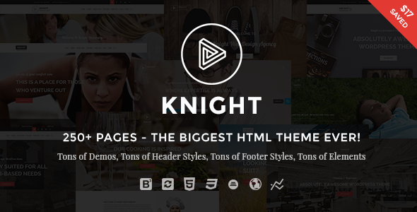 Knight | The Multi-Purpose HTML5 Template - Corporate Site Templates