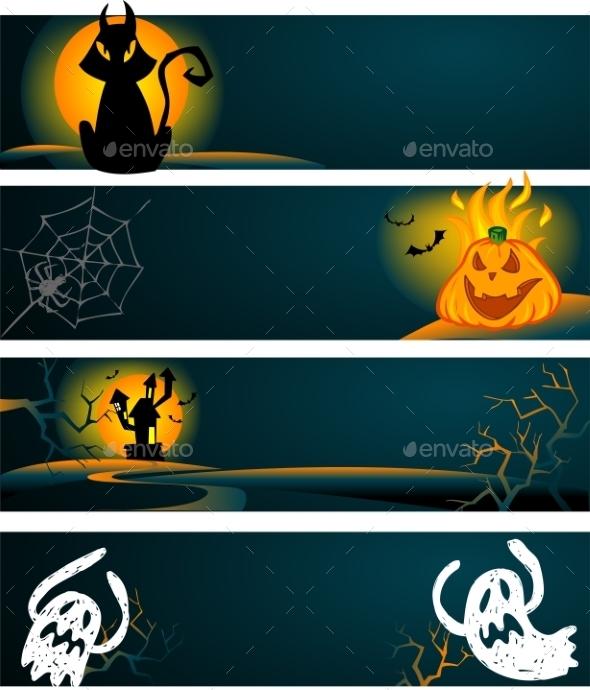 Halloween Banners - Halloween Seasons/Holidays