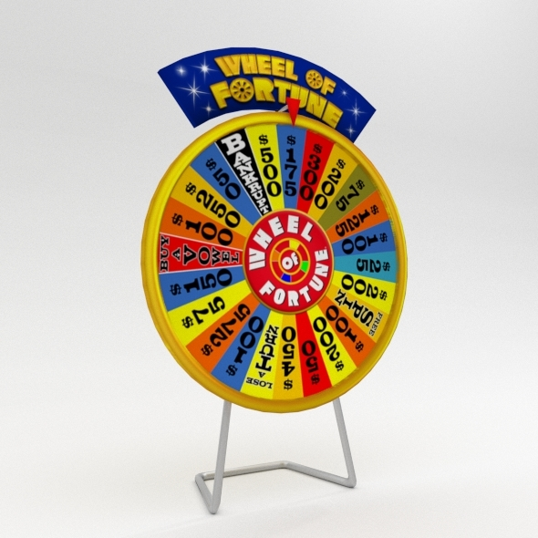 Game Wheel - 3DOcean Item for Sale
