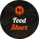 Food Share - Food App Template UI - GraphicRiver Item for Sale