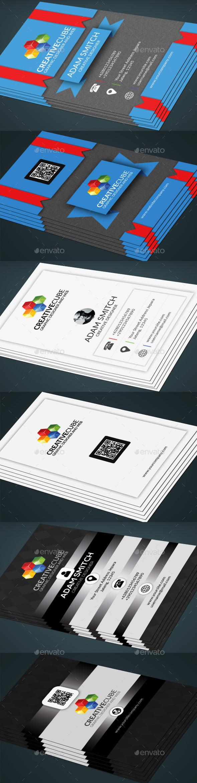 3 bundle clasik business card - Corporate Business Cards