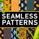 Halloween Seamless Patterns Set - GraphicRiver Item for Sale