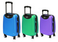 Colourful Luggages with Wheels - PhotoDune Item for Sale