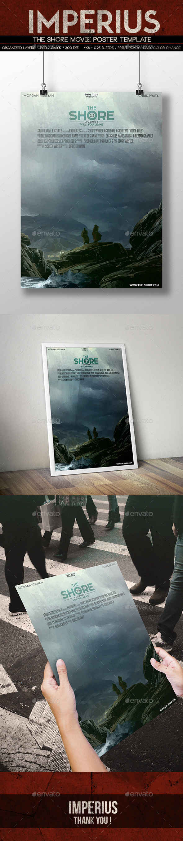 The Shore Movie Poster - Miscellaneous Events