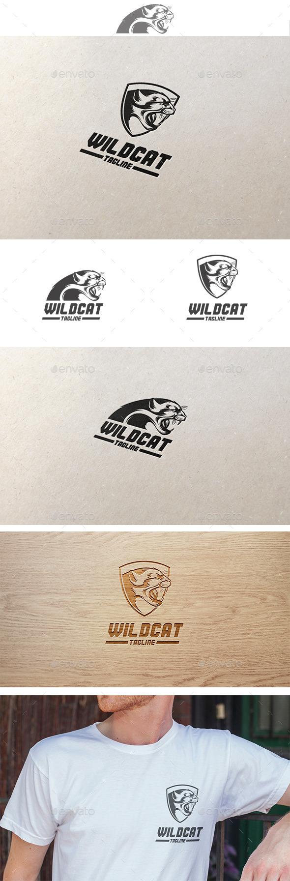 Wildcat Logo - Animals Logo Templates