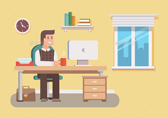 Office Worker - Concepts Business