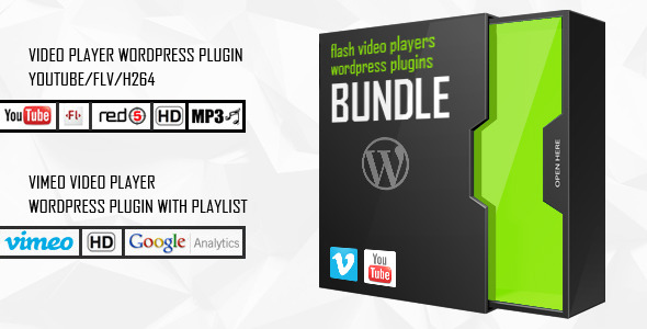 WP Bundle Flash Video Players - YouTube/Vimeo/MP4 - CodeCanyon Item for Sale