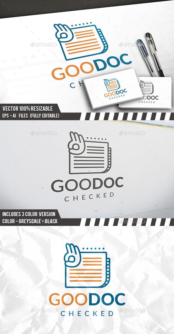 Good News Logo - Objects Logo Templates