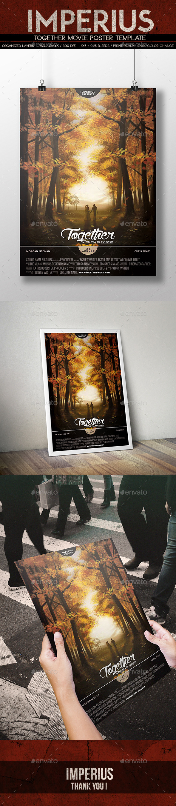 Together Movie Poster - Miscellaneous Events