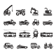 16 Transport Icons - GraphicRiver Item for Sale