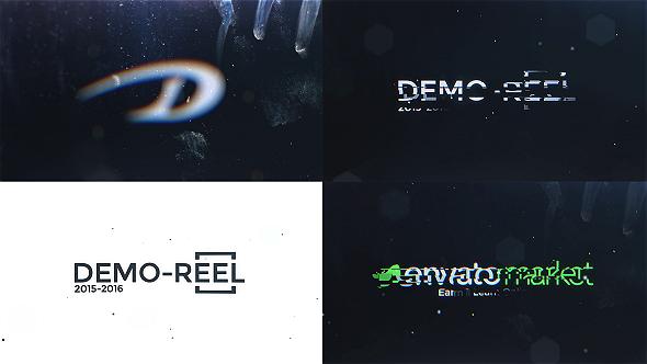 DeFocus Glitch Logo Intro