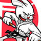 Karate Rabbit - GraphicRiver Item for Sale