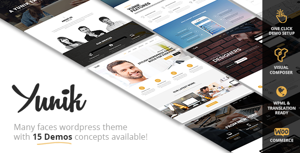Yunik – Ultimate Multi-Concept WordPress Theme