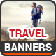 Travel Banners v7 - GraphicRiver Item for Sale