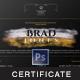 Multipurpose Modern Certificate v.16 - GraphicRiver Item for Sale