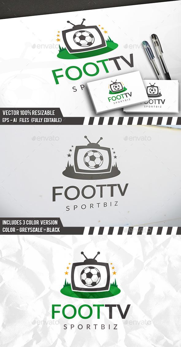 Football Tv Logo - Nature Logo Templates