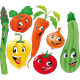 Vegetable Family - GraphicRiver Item for Sale