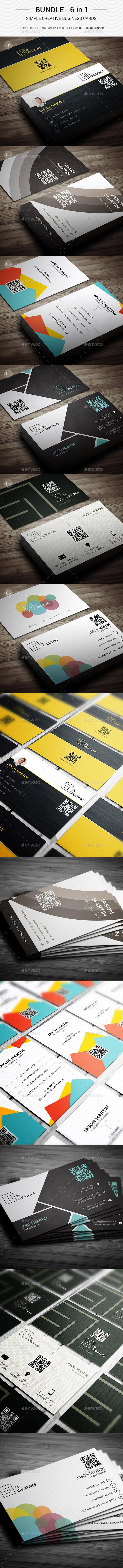 Bundle - Creative Business Card - 146 - Creative Business Cards