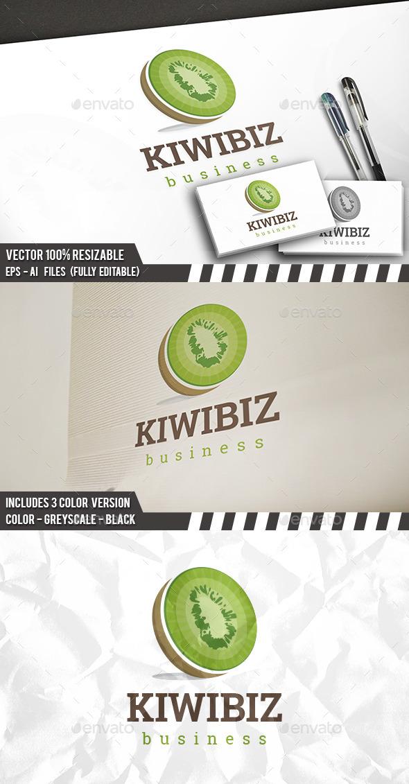 Kiwi Logo - Food Logo Templates