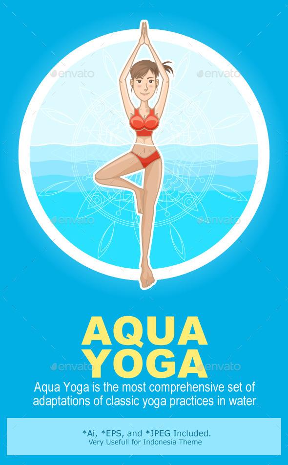Aqua Yoga - Sports/Activity Conceptual