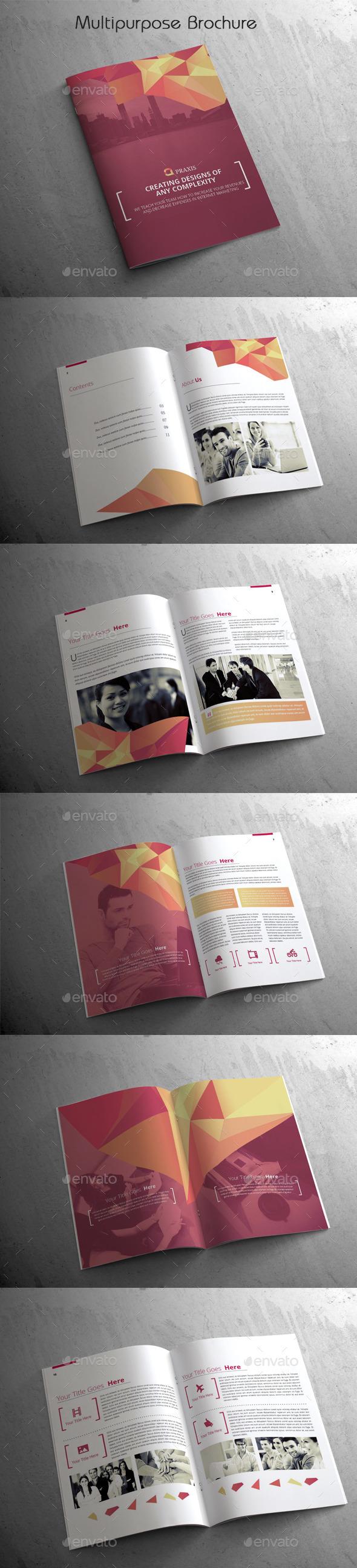 Multipurpose Brochure - Brochures Print Templates