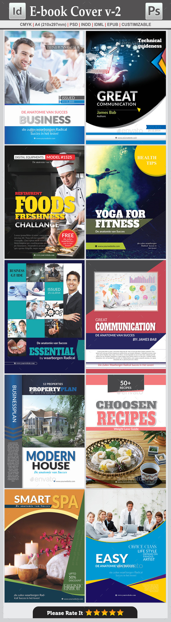E-Book Cover v-2 - Digital Books ePublishing