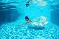 bride posing underwater - PhotoDune Item for Sale