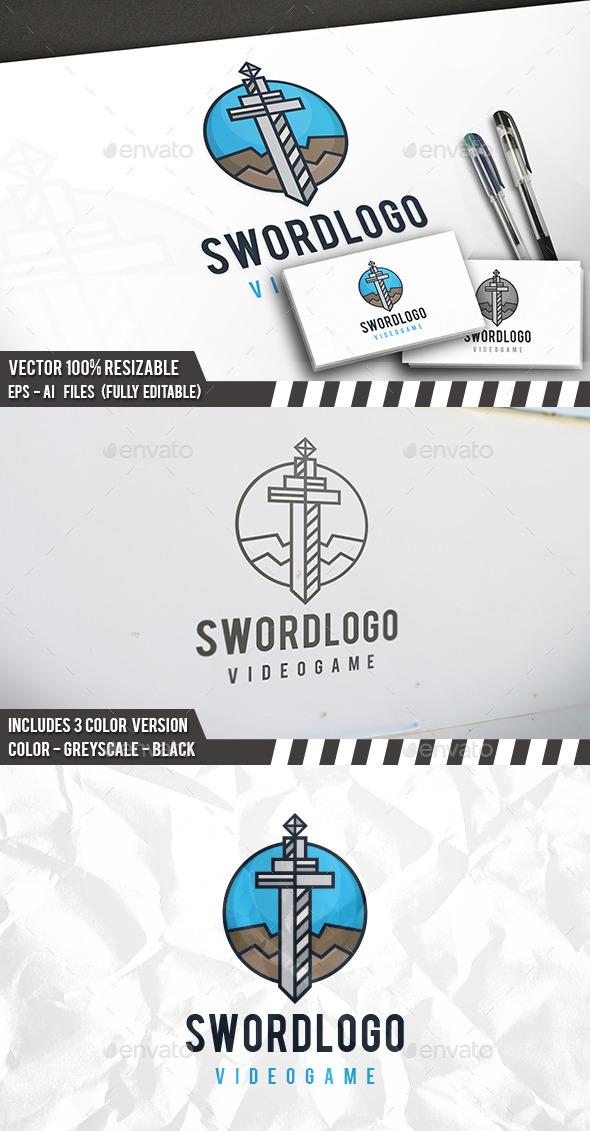 Sword Logo - Objects Logo Templates