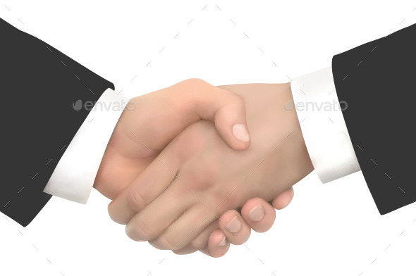 Business People Handshake - Concepts Business