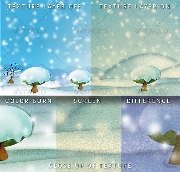 Digital Freeze Landscape - Backgrounds Graphics
