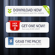 Premium Download Buttons 02 - GraphicRiver Item for Sale
