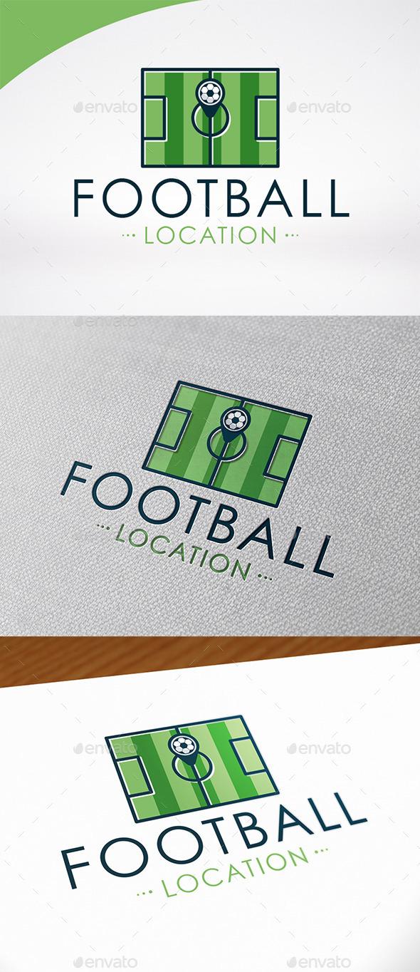 Football Locator Logo Template - Symbols Logo Templates