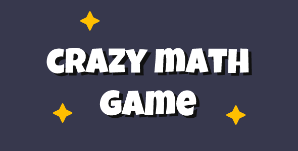 Crazy Math Game - CodeCanyon Item for Sale