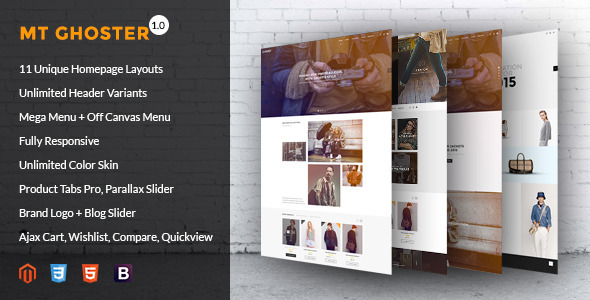 Ghoster – Multipurpose Responsive Shopify Theme