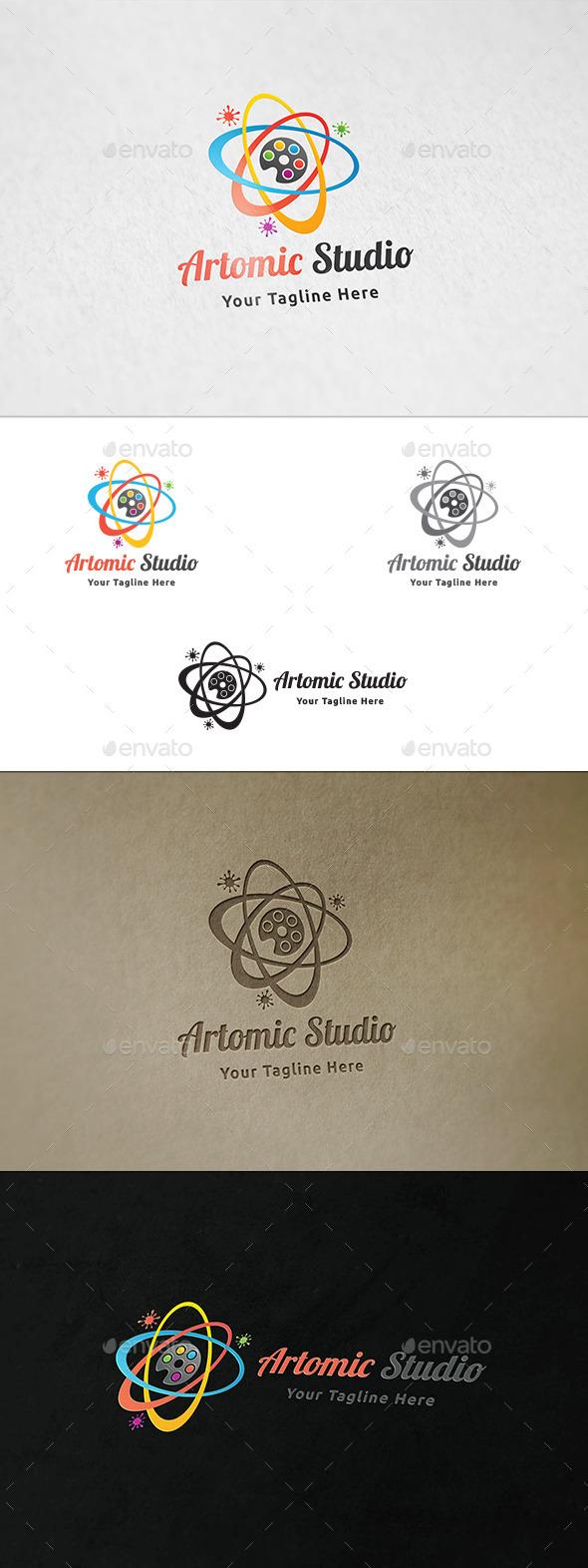 Artomic Studio Logo