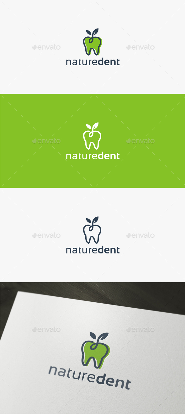 Nature Dental - Logo Template - Nature Logo Templates