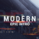 Modern Epic Intro - VideoHive Item for Sale