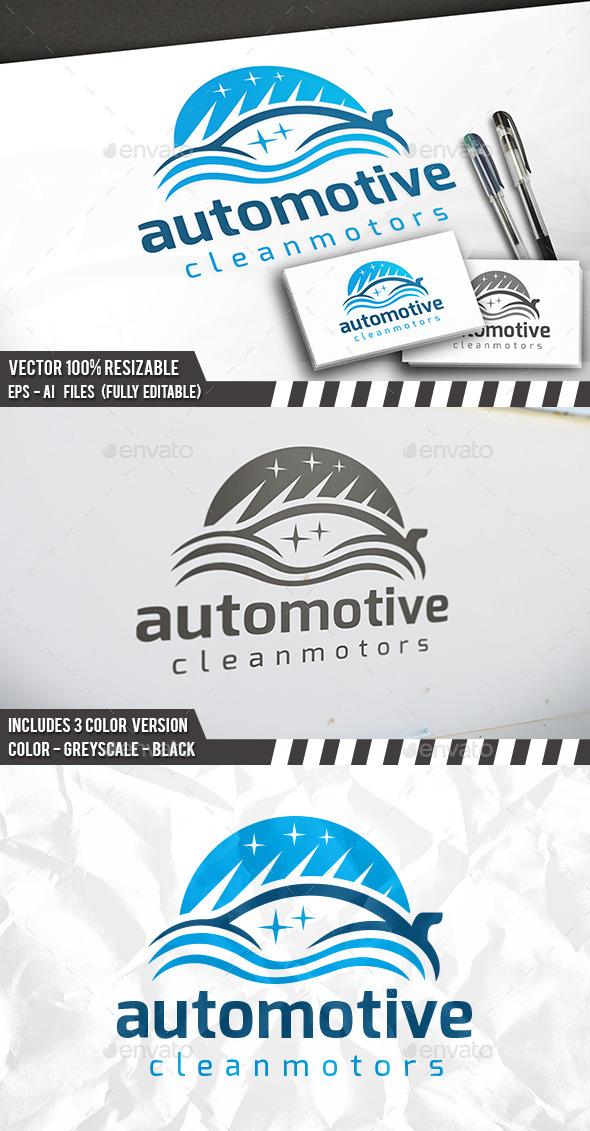Car Wash Logo - Nature Logo Templates