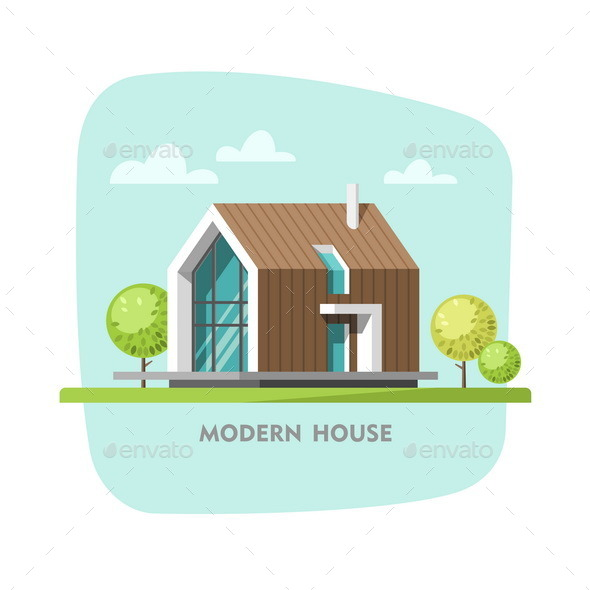 Modern House - Buildings Objects