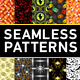 Halloween Seamless Patterns Set 2 - GraphicRiver Item for Sale