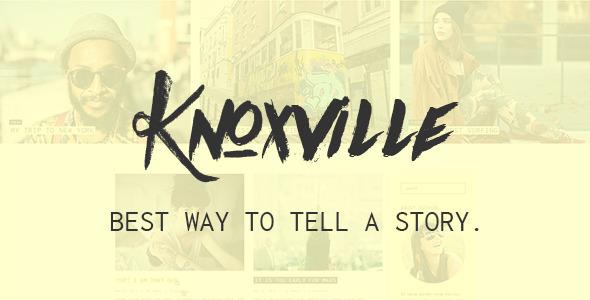 Knoxville – Responsive WordPress Blog Theme