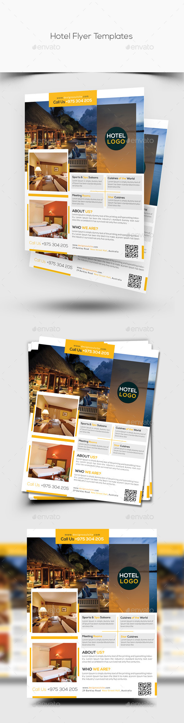 Hotel Flyer Template - Corporate Flyers