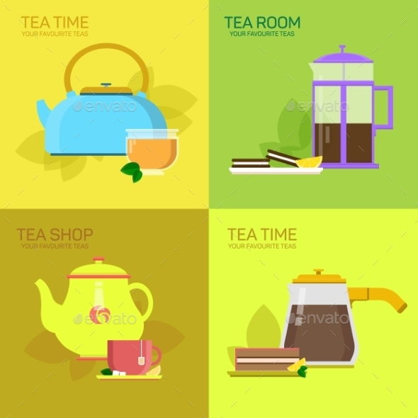 Tea Party - Decorative Symbols Decorative